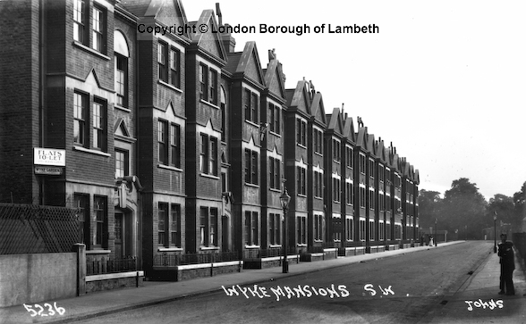 Wyke Gardens Mansion Block Liberty Street 1915