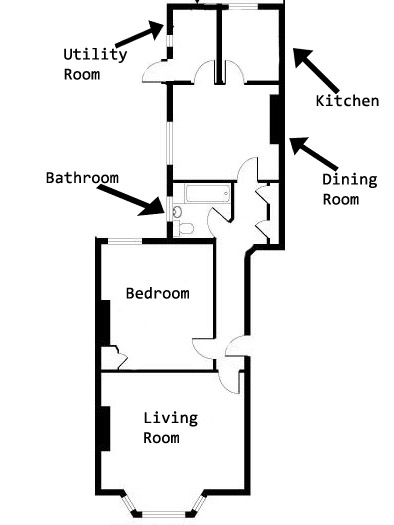 1.Ground Floor Single Flat
